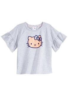 Hello Kitty Printed T-Shirt, Little Girls