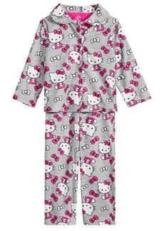 Hello Kitty Toddler Girls 2-Pc. Printed Pajama Set