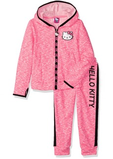 Hello Kitty Toddler Girls' 2 Piece Embellished Active Set