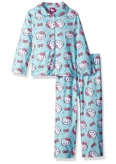 Hello Kitty Toddler Girls' 2-Piece Pajama Coat Set