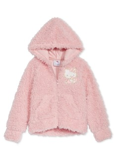 Hello Kitty Toddler Girls Faux-Fur Hoodie