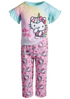 Hello Kitty Toddler Girls Jersey Pajama Set