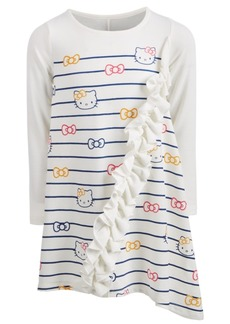 Hello Kitty Toddler Girls Ruffle-Trim Printed Dress