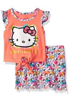 Hello Kitty Toddler Girls' Skirt Set