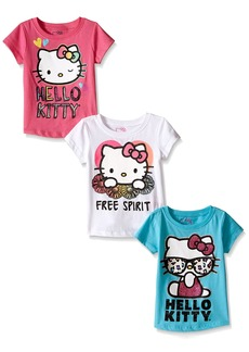 Hello Kitty Little Girls' Toddler Value Pack T-Shirts