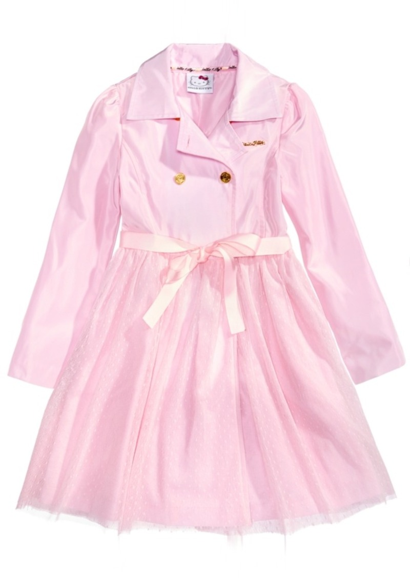 5f2d9aefa SALE! Hello Kitty Hello Kitty Trench Coat Tutu Dress, Little Girls