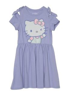 Little Girls Hello Kitty Short Sleeve Dress