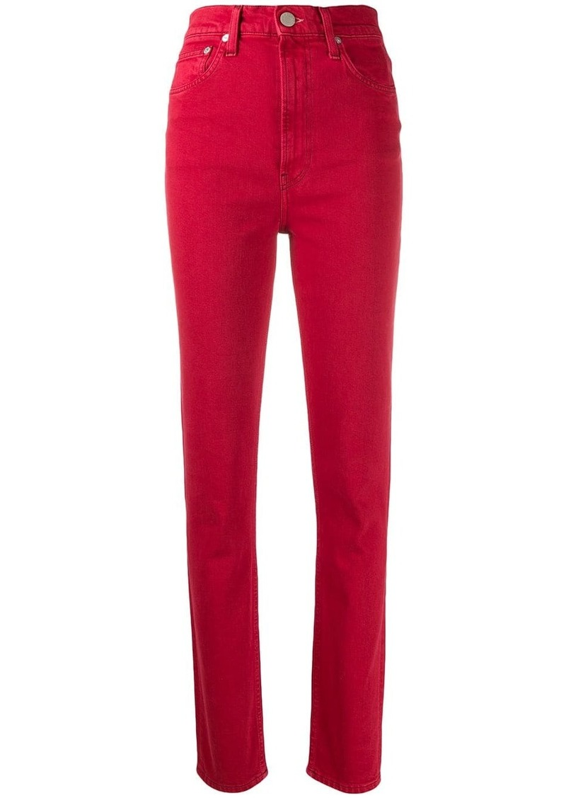 Helmut Lang high spiked jeans