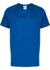Helmut Lang 3D logo embroidered T-shirt