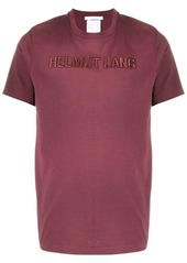 Helmut Lang 3D logo embroidered T-shirt