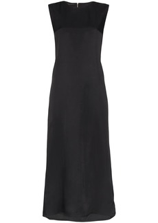 Helmut Lang A Line Cutout Back Sleeveless Midi Dress