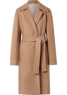 Helmut Lang Alpaca And Wool-blend Coat