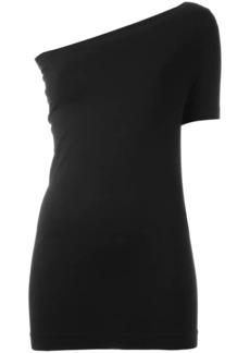 Helmut Lang assymetric seamless T-shirt