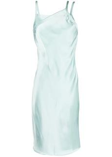 Helmut Lang asymmetric slip dress