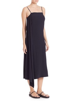 Helmut Lang Asymmetrical Drape Dress