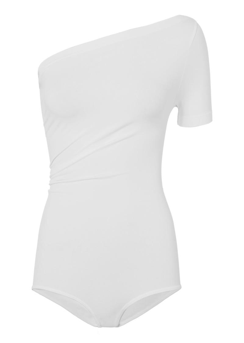 Helmut Lang Asymmetrical Seamless Bodysuit