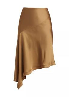 Helmut Lang Asymmetrical Slip Skirt