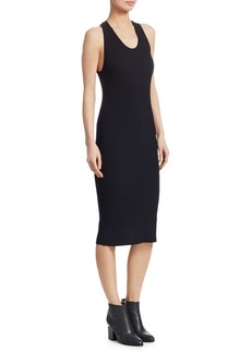 Helmut Lang Back Twist Racer Dress