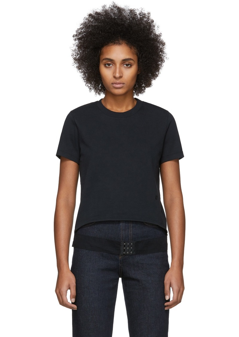 Helmut Lang Black Femme Belt T-Shirt