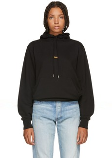 Helmut Lang Black London Edition Taxi Hoodie