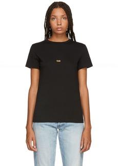 Helmut Lang Black London Edition Taxi T-Shirt
