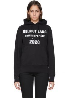 Helmut Lang Black Marc Hundley Edition Standard Hoodie