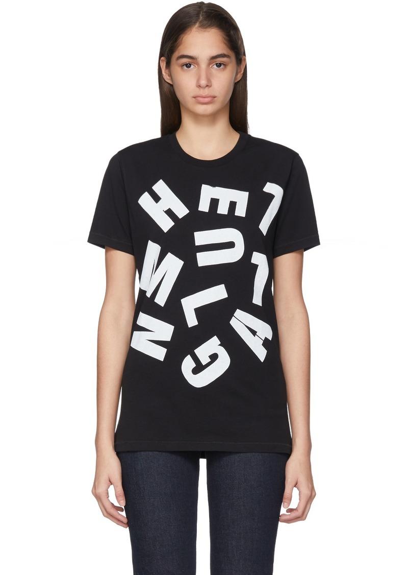 Helmut Lang Black Marc Hundley Edition Standard T-Shirt