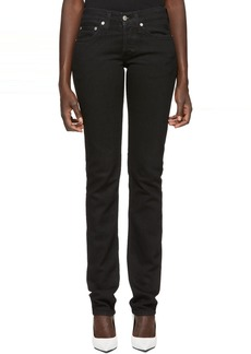 Helmut Lang Black Masc Lo Drainpipe Jeans