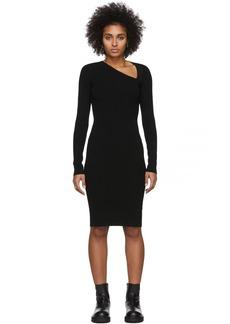 Helmut Lang Black Raglan Dress