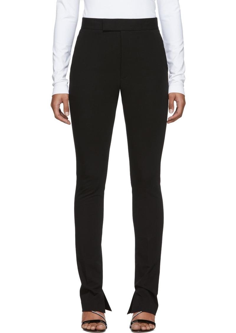 Helmut Lang Black Rider Leggings Trousers