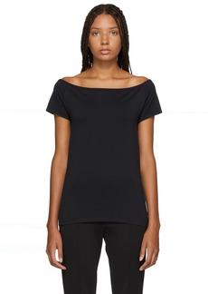 Helmut Lang Black Seamless T-Shirt