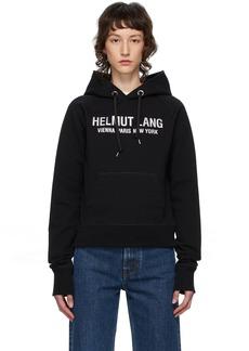 Helmut Lang Black Slim Hoodie