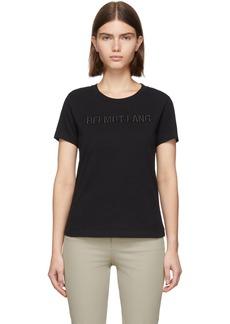 Helmut Lang Black Standard Baby T-Shirt