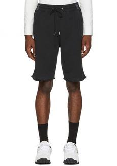 Helmut Lang Black Washed Shorts