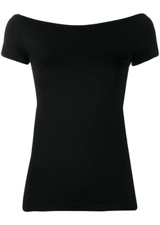 Helmut Lang boat neck T-shirt
