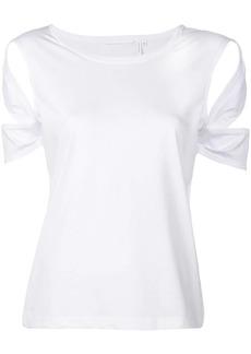 Helmut Lang bondage sleeve T-shirt