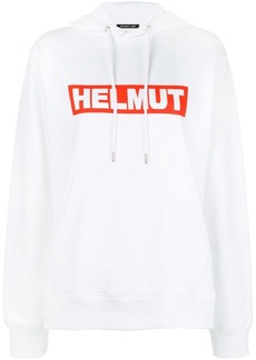 Helmut Lang box logo hoodie