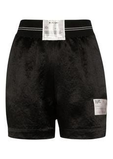 Helmut Lang Boxer logo patch shorts
