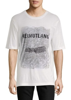 Helmut Lang Boxy-Fit Short-Sleeve Tee