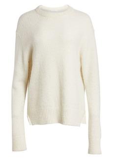 Helmut Lang Brushed Alpaca-Blend Sweater