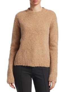 Helmut Lang Brushed Wool-Blend Sweater
