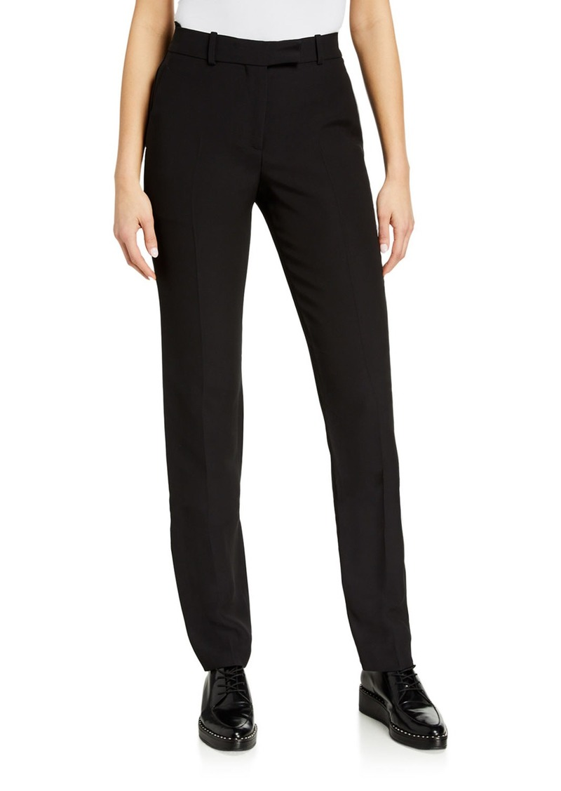 Helmut Lang Cady Straight-Leg Suit Pants
