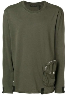 Helmut Lang cargo pocket long sleeved T-shirt