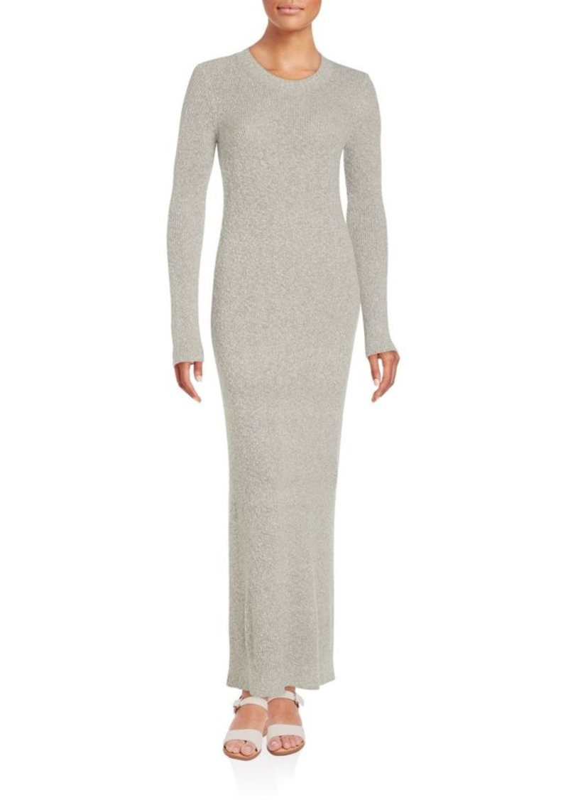 Helmut Lang Cashmere Long Sleeve Gown