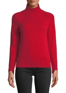 Helmut Lang Cashmere Raglan Turtleneck Sweater