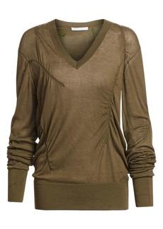 Helmut Lang Cashmere V-Neck Sweater