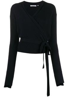 Helmut Lang cashmere wrap cardigan