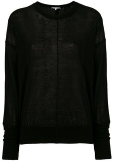 Helmut Lang centre seam sweater