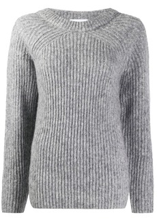 Helmut Lang chunky knit jumper