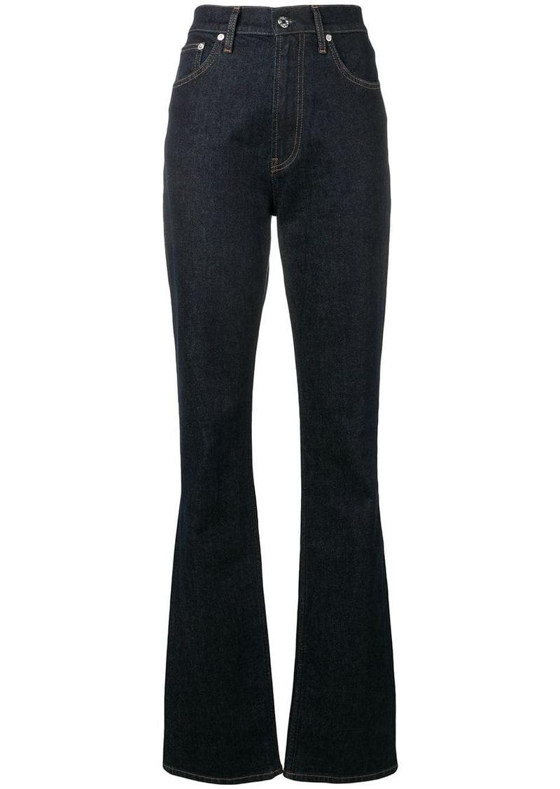 Helmut Lang classic bell-bottom jeans
